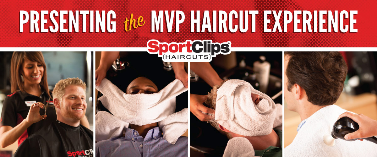 The Sport Clips Haircuts of York Road Plaza MVP Haircut Experience